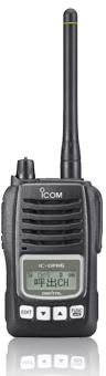 携帯型デジタル簡易無線機IC-DPR6